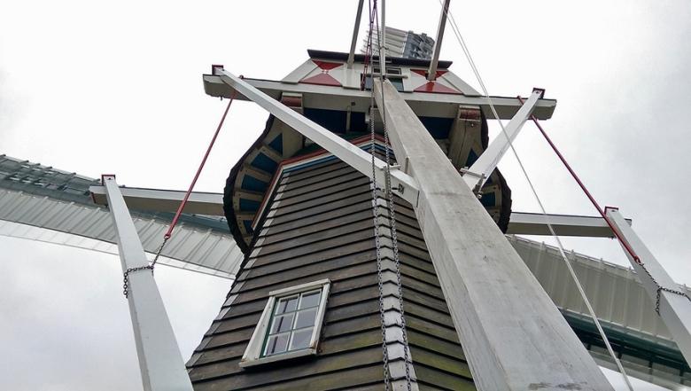 Windmills in Holland | Stel's Meulen, Harkstede, Groningen